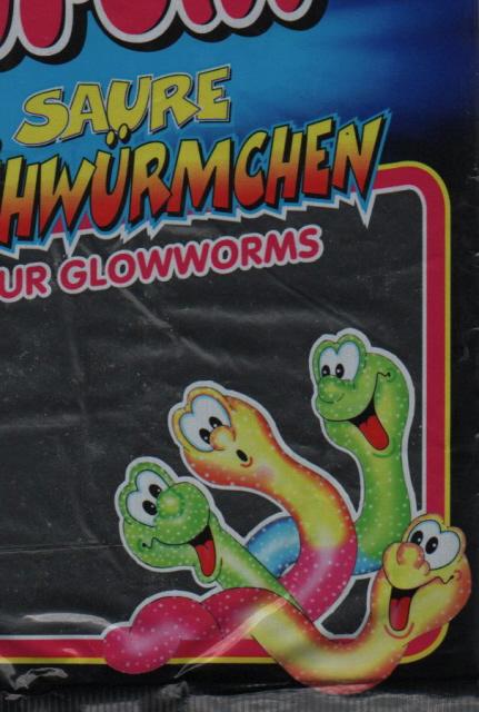 Trolli Gummiwürmer sauer