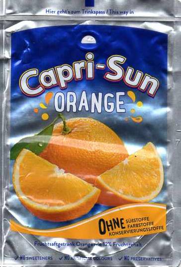 Capri sun neue Orange