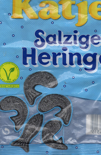lakritz Fische für kleine und Große Sleeves